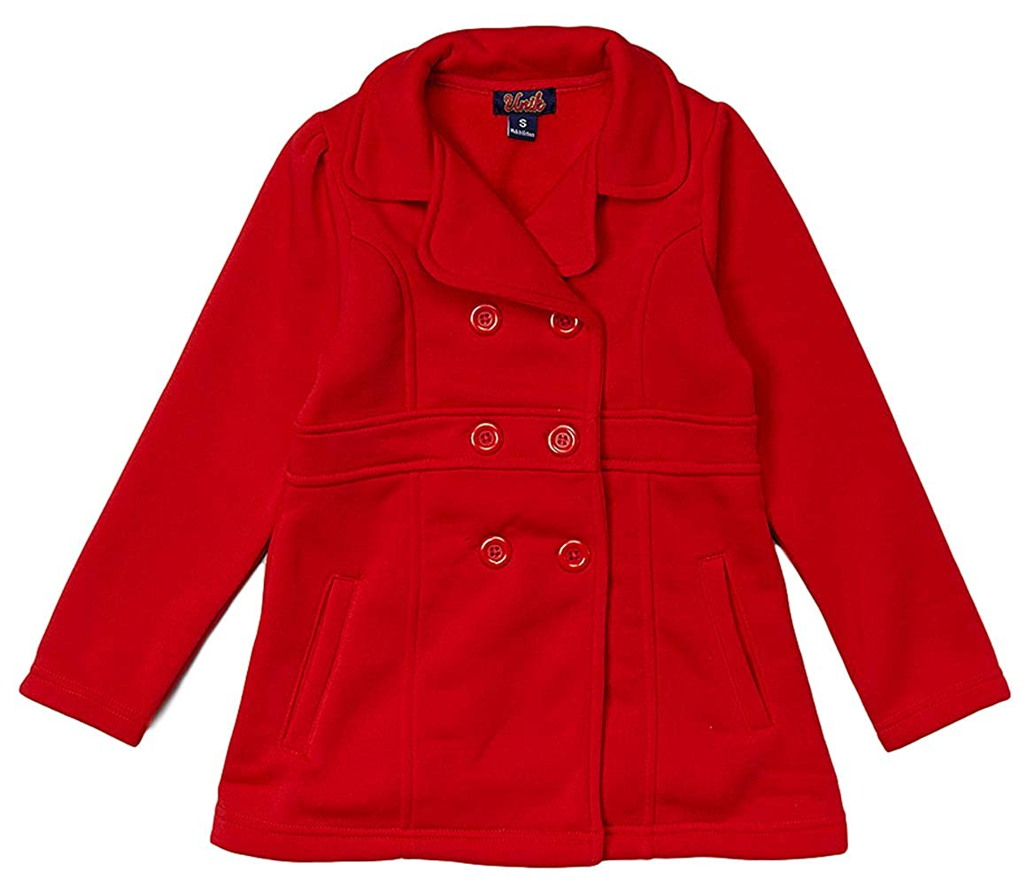 unik Girl Fleece Coat with Buttons Size 2,3,4, SM, M, L, XL Perfect for Daily wear GJ16-P