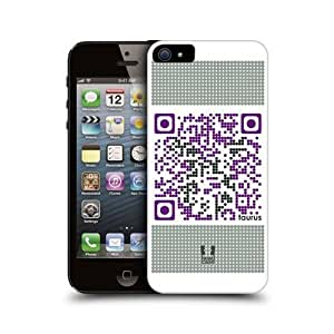 Taurus Zodiac Qr Code Design Glossy Back Case Cover For Apple iPhone 5