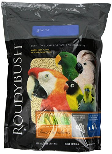 RoudyBush Low Fat Bird Food, Mini, 10-Pound ()