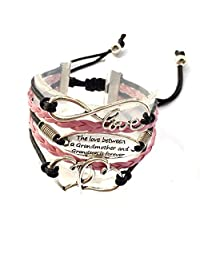 The Love Between The Grandmother And Grandson Is Forever Bracelet Adjustable-2 Styles