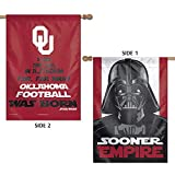 WinCraft NCAA University of Oklahoma 15849215 2 Sided Vertical Flag, 28″ x 40″ Review