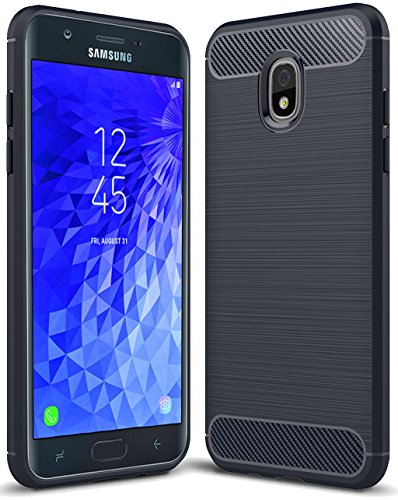 Samsung Galaxy J7 2018 case, Galaxy J7 V 2nd Gen Case,Galaxy J7 Refine Case,Galaxy J7 Aero,J7 Star,J7 Top,J7 Crown,J7 Aura,J7 Eon,J737V,J737T Sucnakp TPU Protective Case Cover (Blue)