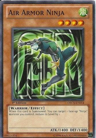Yu-Gi-Oh! - Air Armor Ninja (ORCS-EN014) - Order of Chaos - 1st Edition - Common