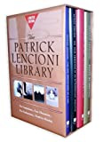 img - for Patrick Lencioni Library (Five Temptations of a CEO; Four Obsessions of an Extraordinary Executive; Five Dysfunctions of a Team; Death by Meeting) by Patrick M. Lencioni (2005-03-30) book / textbook / text book