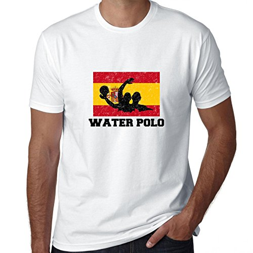 Water Polo Olympics - Hollywood Thread Spain Olympic - Water Polo - Flag - Silhouette Men's T-Shirt
