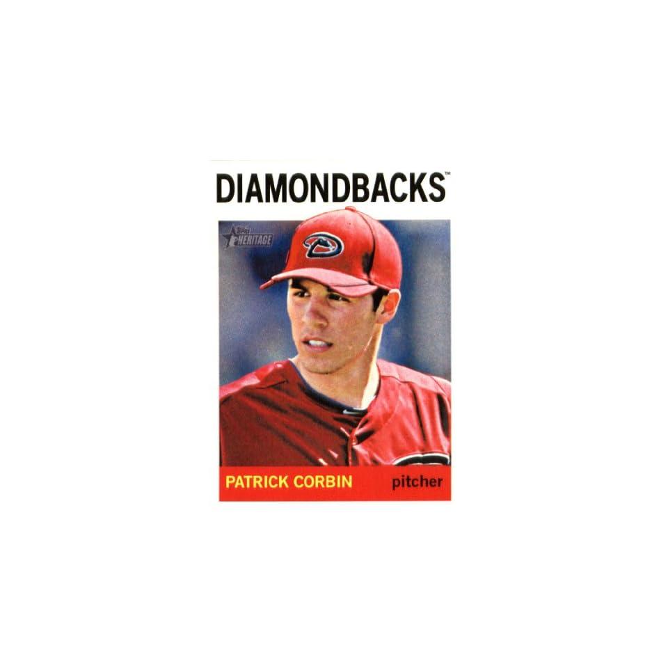 2013 Topps Heritage MLB Trading Card # 328 Patrick Corbin Arizona Diamondbacks