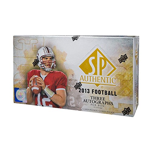 2013 Upper Deck SP Authentic Football Hobby (Upper Deck Football)