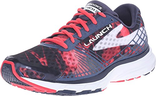 Brooks Launch 3 W, Zapatillas de Running Para Mujer Peacoat/Teaberry/White