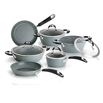 "Bialetti 0B6SP028 Donatello Petravera Universal Wok Pan, 11"", Silver"