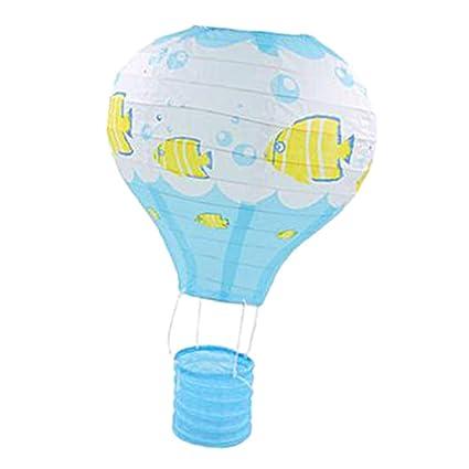 Mongolfiere Di Carta.Fenteer Floating The Skies Hot Air Balloon Mongolfiera Di