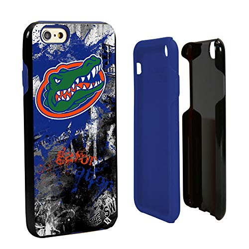 Guard Dog Florida Gators Paulson Designs Spirit Hybrid Case for iPhone 6 / 6s with Guard Glass Screen Protector