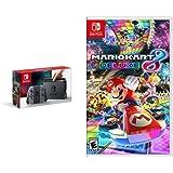 Nintendo Switch Console - Grey Joy-Con Edition & Mario Kart 8 Deluxe - Switch