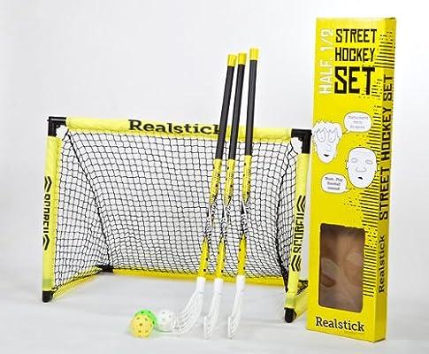 Unihockey Floorball / Street Hockey Set de Realstick: Amazon.es ...