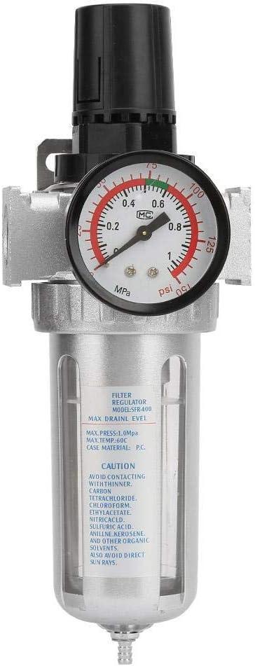 Regulador de Presion Agua - Regulador de presión de aire con conexión de montaje BSP 1/2