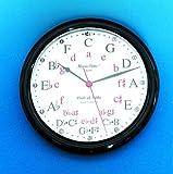Cheap Music Treasures Co. Circle of Fifths Wall Clock