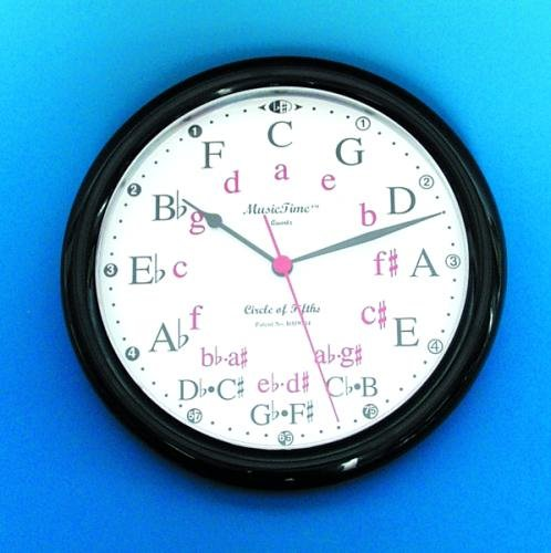 Music Treasures Co. Circle of Fifths Wall Clock
