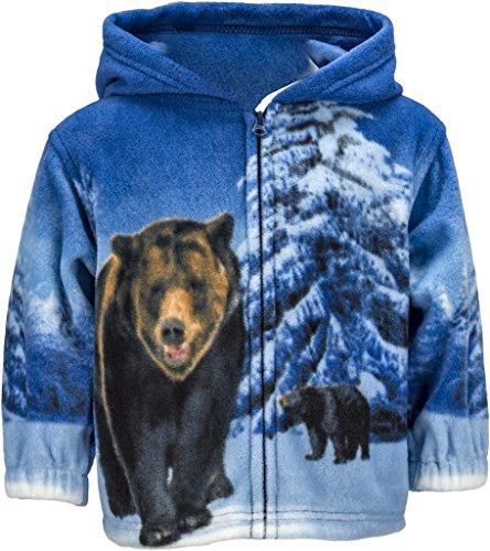 Toddlers Animal Fleece Hooded Jacket product image