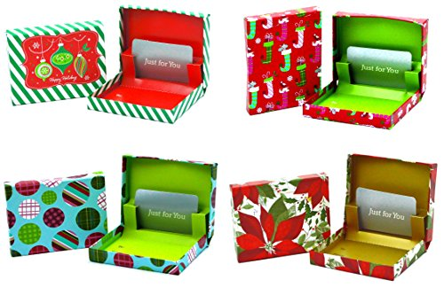Christmas Gift Card Holder Boxes