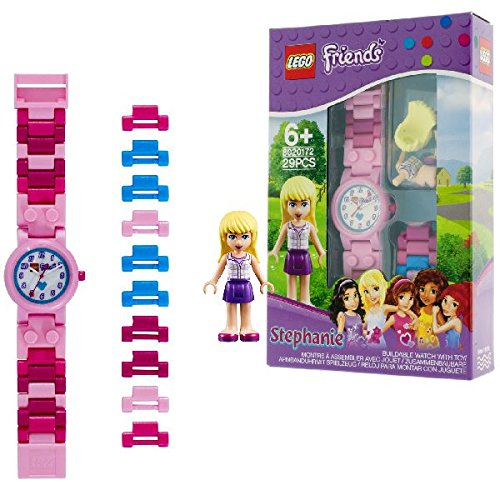 12 opinioni per LEGO Friends 8020172 Orologio da Polso Componibile per Bambini con Cinturino a