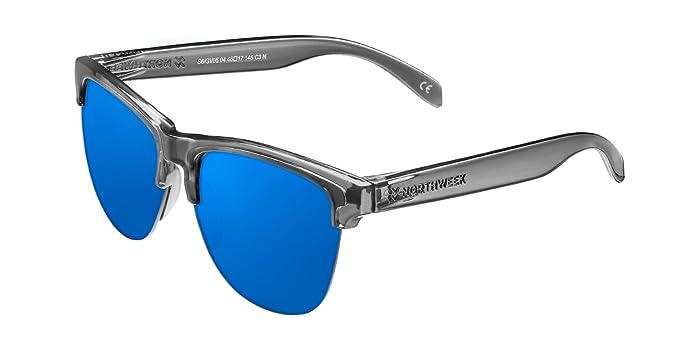Northweek Gravity Jolla - Gafas de Sol para Hombre y Mujer, Gris/Azul