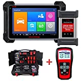 Autel Mk908P Automotive Diagnostic Scan Tool Advanced Full System Scanner with ECU Coding and J2534 ECU Programming With TS401