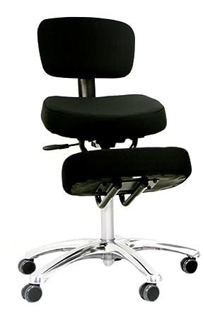 red bp1446 jobri jazzy office kneeling chair betterposture kneeler