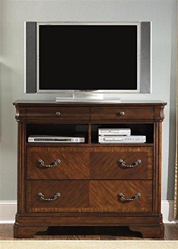 Liberty Furniture 722-BR45 Alexandria Media Chest, 46