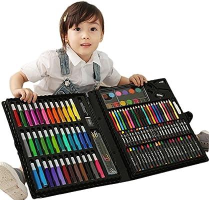 Kanqingqing Caja Colores Niños Suministre 150 Piezas - Super Box ...