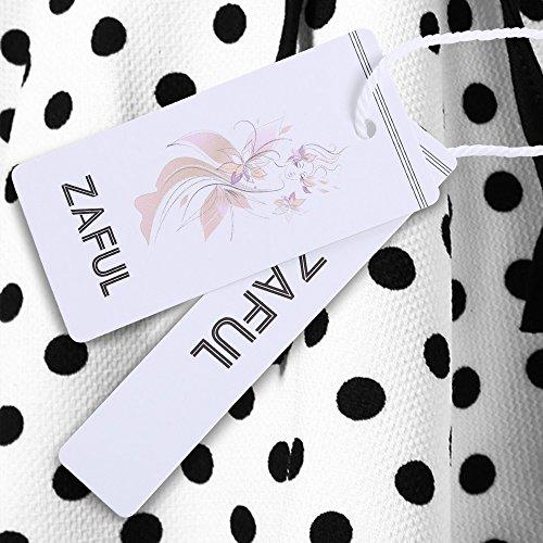 Mujer Blanco Falda Zaful Zaful Mujer Para Para Falda wS8xTYH