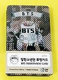 BTS BANTAN BOYS - TRANSPARENT PHOTO CARDS 25pcs [FAN GOODS]