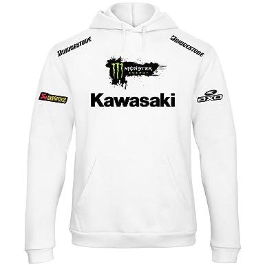 Capuche Sweat Racing De Kawasaki À Course Rally Rallye Moto Shirt qqcrHCEw