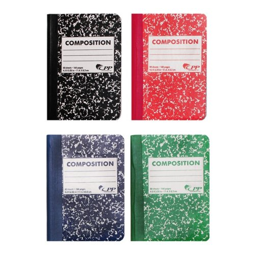 Sheet Mini Composition Assorted Colors product image