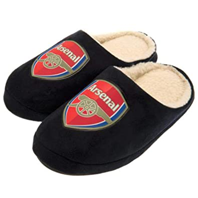 d63d694f289 Arsenal Fc Mens Mules Slippers UK 9 10  Amazon.co.uk  Shoes   Bags