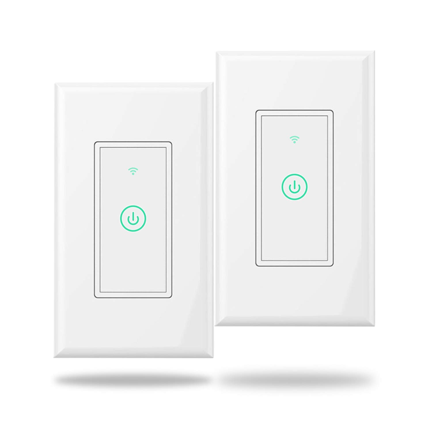 Meross Smart Wi Fi Wall Light Switch Amazon Alexa And Google 2 Way Failure Assistant Supported Remote Control Timing Function Fit For Us Ca No Hub Needed White