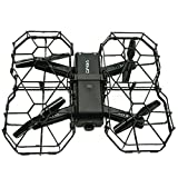 Latest App Controlled VR FPV Drone Camera, Outdoor Indoor 1080P HD 6-Axis Gyros RTF RC Quadcopter Dron With Optical Flow 2.4Ghz Wifi (Black)