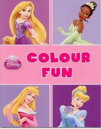 Disney Princess Colour Fun Colouring Book