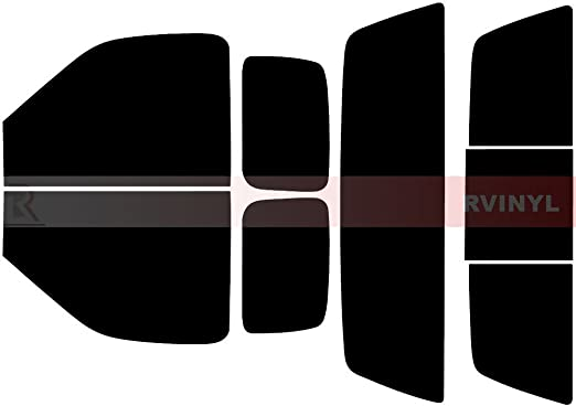 20/% 2 Door - Back Kit Rtint Window Tint Kit for Ford F-250 1980-1991