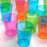Northwest-Enterprises-N105090-Vaso-de-plstico-fluorescente-50-unidades-30-cl-varios-colores