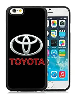 Personality customization Customized Toyota logo 3 iPhone 6 4.7 Inch Black Case At J-15 Cases
