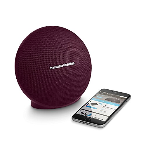 Harman/kardon - Onyx Mini Portable Wireless Speaker - Maroon/Red
