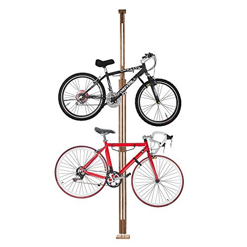 2021 RAD Cycle Woody Bike Stand Bicycle Rack Storage or Display Holds Two ()