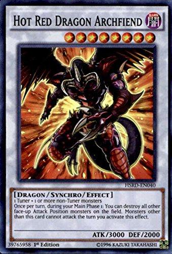 Yu Gi Oh Dragon Archfiend HSRD EN040 High Speed product image