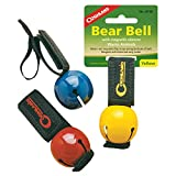 Coghlan's Magnetic Bear Bell attaches to your clothing, pack, or even your pet's collar, with a hook and loop closure. Movement of the person or pet it is attached to, causes a steady ringing to warn animals of your presence. Use the magnetic strap t...