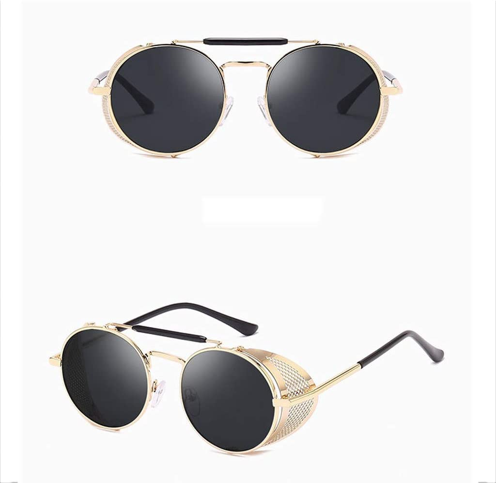 WEIFAN Occhiali da Sole Europa E America Occhiali da Sole Personalizzati Parabrezza Occhiali da Sole A Colori retrò Specchio Riflettente Rana B