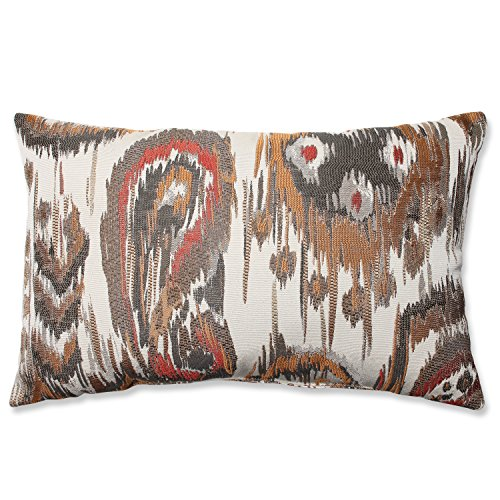 Pillow Perfect Sonata Rectangular Throw Pillow, Bronze
