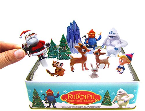 Rudolph The Red Nosed Reindeer Snowland Craft Kit