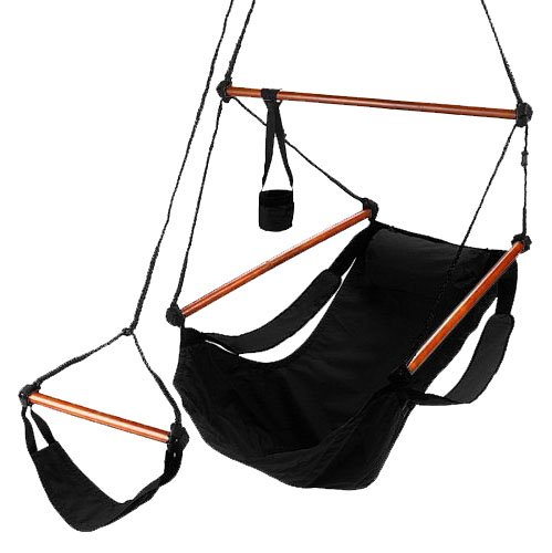 South Mission Deluxe Hammock Chair - Midnight Black