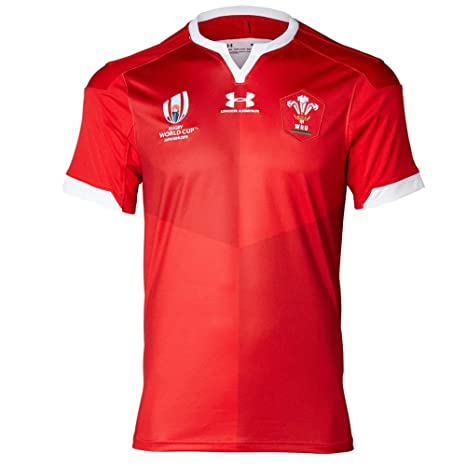 England World Cup Jersey 2020.Under Armour Men S Welsh Rugby Union Replica World Cup Jersey