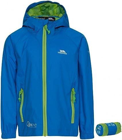 Trespass Enjoy Enfants Filles Imperméable Coupe-Vent pluie veste manteau