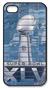 icasepersonalized Personalized Protective Case For Iphone 4/4S Cover NFL Super Bowl XLV, American Football